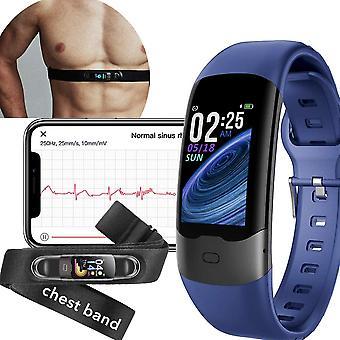ساعة ذكية للجنسين مع مراقبة معدل ضربات القلب ECG القلب النوم لالروبوت دائرة الرقابة الداخلية الزرقاء