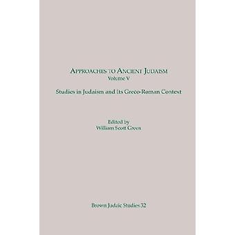 مقاربات لليهودية القديمة - دراسات في اليهودية وغريكو-رومان