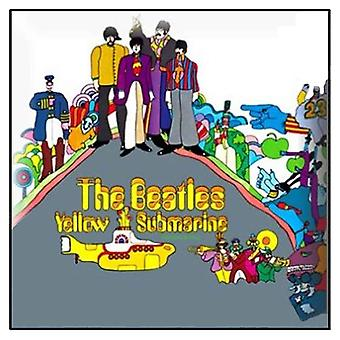 The Beatles Yellow Submarine Album novo crachá Official Metal Pin