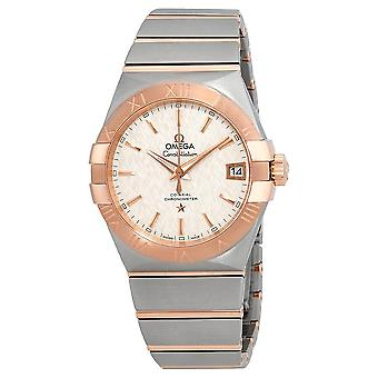 Omega Constellation Automatic Silver Dial Men's Watch 123.20.38.21.02.007