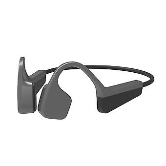 Wireless bone conduction bt headphones sweat proof outdoor sports headset with microphone