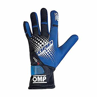ילדים קארטינג כפפות OMP MY2018 גודל כחול 6