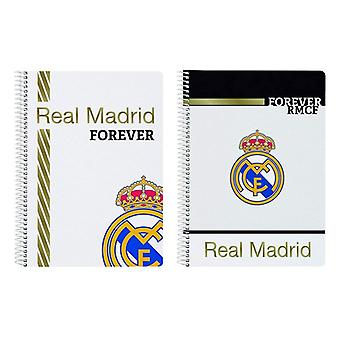 Book of Rings Real Madrid C.F. White Black A5