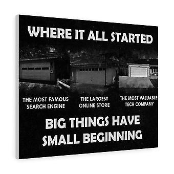 Isoista asioista on pieni alku