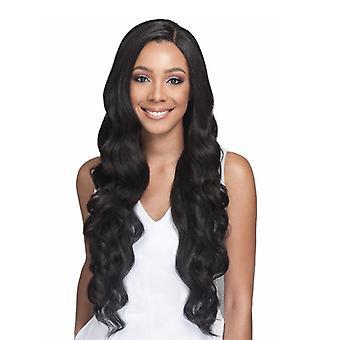 長い巻き毛の女の子の自然なかつらファッション合成ウィッグ偽の髪