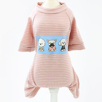 Spring and summer season three puppies home clothes pet clothing