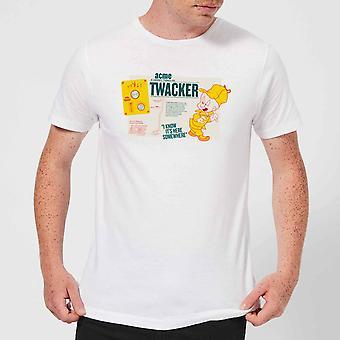 Looney Tunes ACME Products ACME Twacker Men's Short Sleeve T-Shirt - White