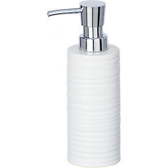 zeepdispenser Mila 260 ml keramisch wit