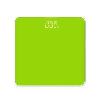 Electronic Scale LED Display Human Body Weight Scale(Green)
