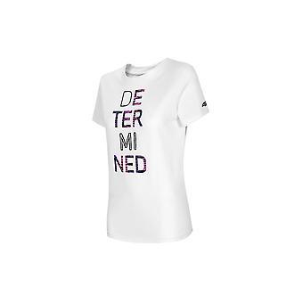 4F TSD018 H4L21TSD018BIAY אוניברסלי כל השנה נשים חולצת טריקו