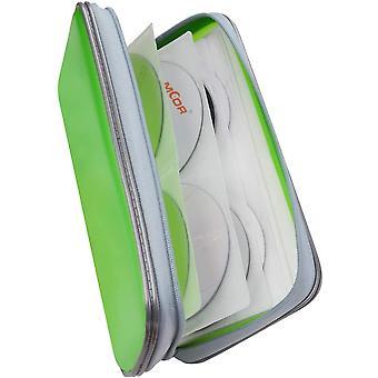 FengChun CD Tasche Kinder 80PCS CD Aufbewahrung Auto DVD Tasche CD Hüllen DVD Hüllen DVD