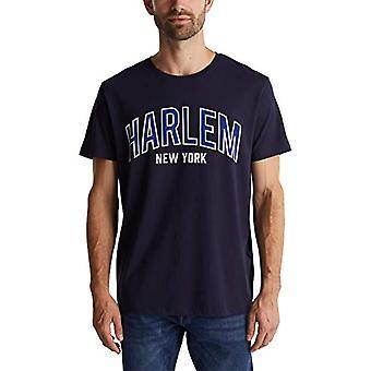 edc by Esprit 020CC2K316 T-Shirt, 400/Navy, L Men