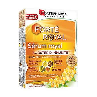 Royal Immunity Booster Serum 20 ampoules of 10ml