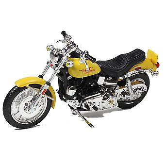 Harley Davidson Low Rider FXS (1977) Diecast malli moottori pyörä