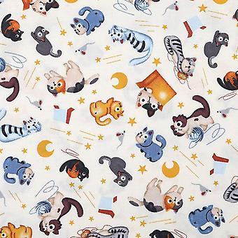 Cartoon Wool Ball, Cotton Hemp Printing Cloth