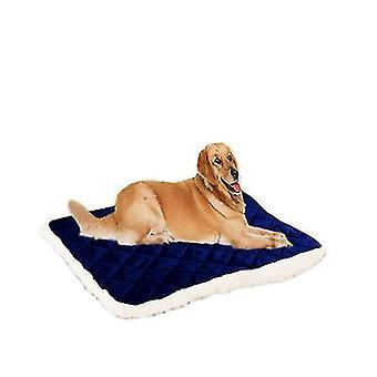 Blue1 hundeseng stor kasse seng matte 100 * 80cm kjæledyr senger vaskbar x3992