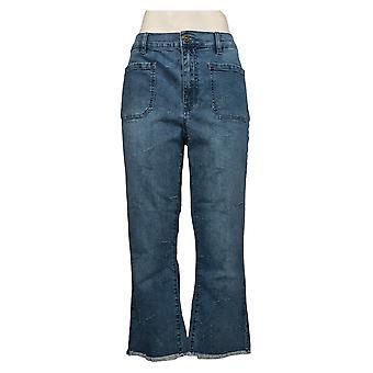 DG2 by Diane Gilman Women's Jeans Reg Classic Stretch Star Blue 698158