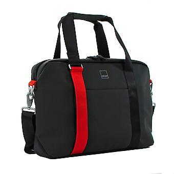 Acme Made AM20111-HT North Point Atašé taška - černá / mandarinka
