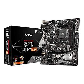 MSI B450M PRO-M2 MAX motherboard AMD B450 Socket AM4 micro ATX