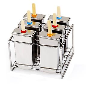 Stainless Steel Diy Ice Lolly Stick Moulds