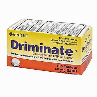 Major Pharmaceuticals Driminate, 50 mg, 100 Tabs