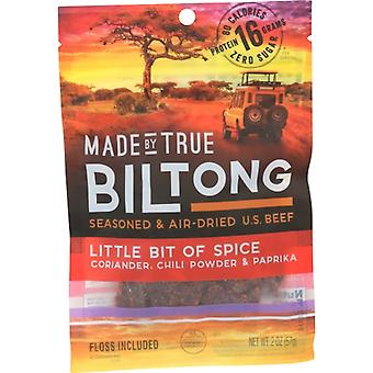 Made By True Biltong Chili Spice, Case of 8 X 2 Oz