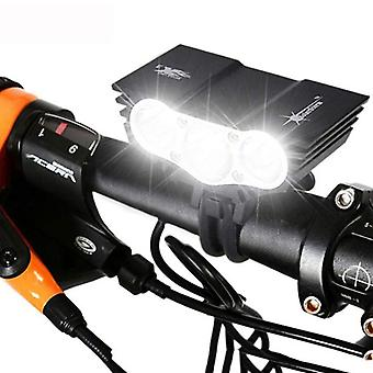 LED Bicycle Lights Headlamp Mountain Bike Headlight Cycle Torch Lamp