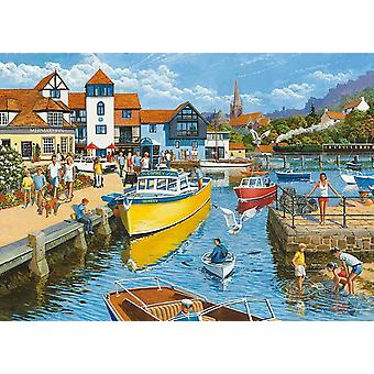 Otter House Riverside Jigsaw Puzzle (1000 Pieces)