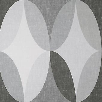 Crown Kirby Oval Geo Kol Tapeter M1639