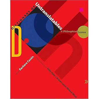 Dictionary of Untranslatables by Cassin