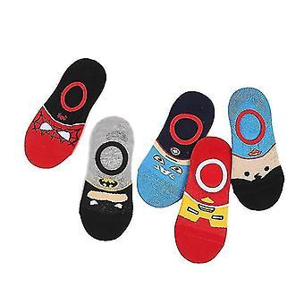 5pcs Children's Socks Four Seasons In The Tube My Hero Academia Socks(L)