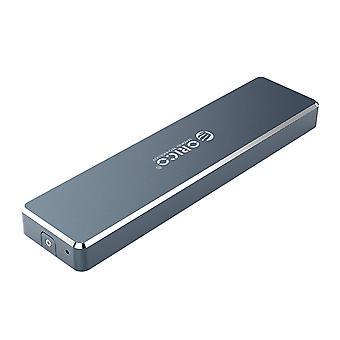 Skříň pevného disku NGFF M.2 2TB hliníková slitina 5 Gb/s Skříň pevného disku SSD USB3.1 Typ-C Pevný disk