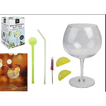Kensington Giftware Gin Cocktail Presentset Glass & Accessoarer