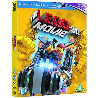 LEGO Movie 3D Blu-ray &UV-kopi