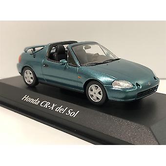 Maxichamps 940191930 Honda CR-X Del Sol 1992 Green Metallic 1:43 Scale