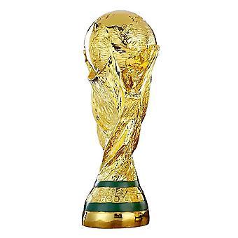 35cm 13.78 Tommers 1:1 World Cup Fotball Trofé Hercules Cup Trophy Souvenirs Fotball Fan Gave Hjemmekontor Dekorasjon