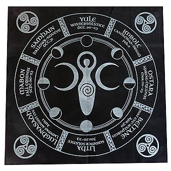 Tarot Tablecloth Psychology Astrology Lovers Exquisite Tablecloth Mysterious Tablecloth 49*49cm