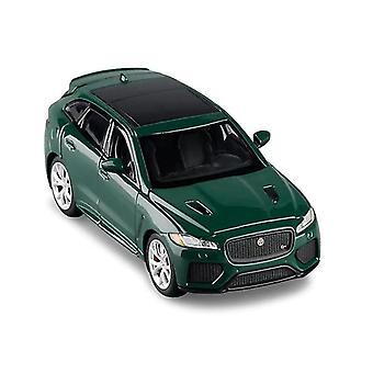 Qian 1:32 Jaguar F Pace Suv Alloy Car Toy (zielony)