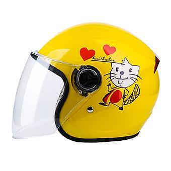 Kinderen Full Face Helm Motorfiets Kinderen Helmen Motor Childs Veiligheid Hoofddeksel Bescherming Gear