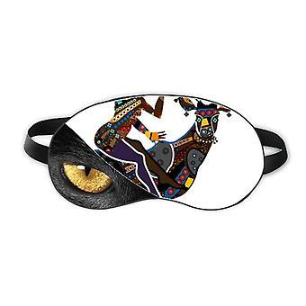 الأفريقية نساء الشعوب الأصلية Ladydeer Greatet العين رئيس بقية الظلام التجميل الظل الغطاء