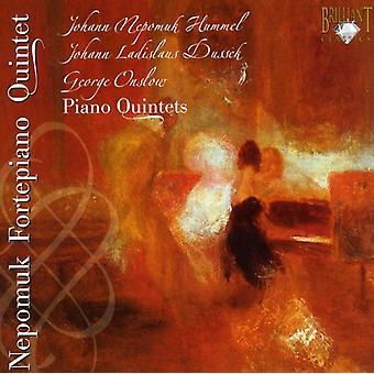 J.N. Hummel - Hummel, Dussek, Onslow: Piano kvintetter [CD] USA import
