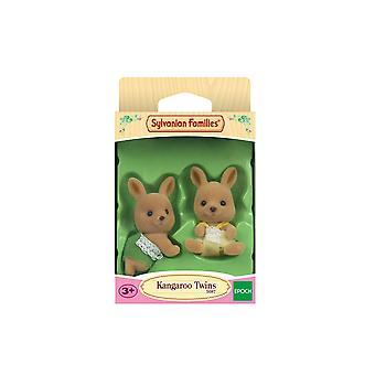 Sylvanian famílias canguru gêmeos
