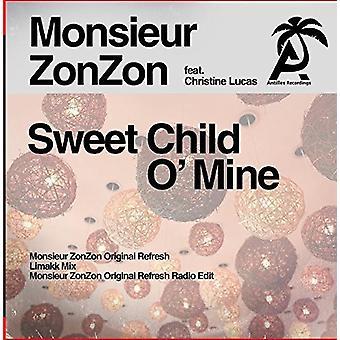 Monsieur Zonzon - importación de dulce niño o ' Mine [CD] Estados Unidos