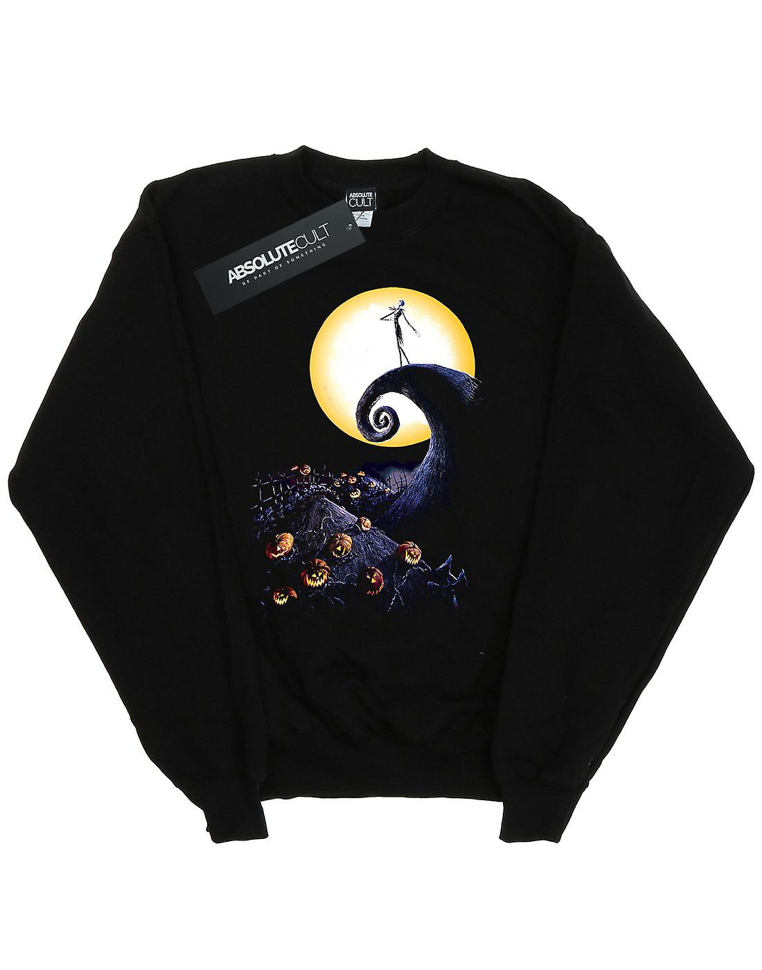NEW THE NIGHTMARE BEFORE CHRISTMAS CEMETERY BLACK T-SHIRT OFFICIAL DISNEY