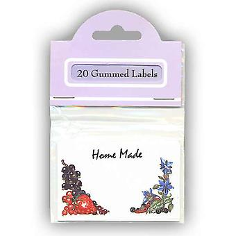 Keycraft Gummed Labels - Fruit And Herb Pl09