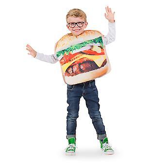 Hambúrguer fantasia de crianças