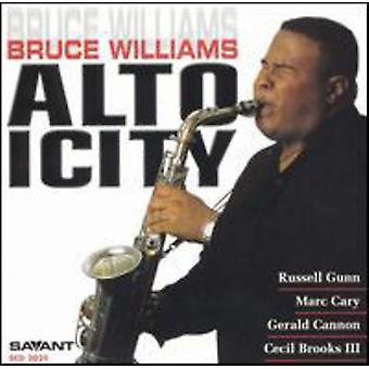 Bruce Williams - importation USA Altoicity [CD]