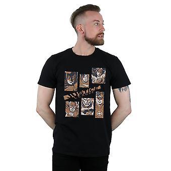 DC Comics Herren Justice League Rechtecke T-Shirt
