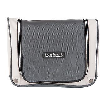 Bruno banani cosmetische zak cosmetica zak om op te hangen zwart grijs 1702