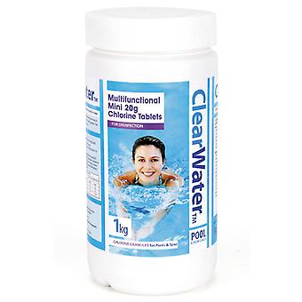 Clearwater 1kg multifonction Mini tablettes (20g)